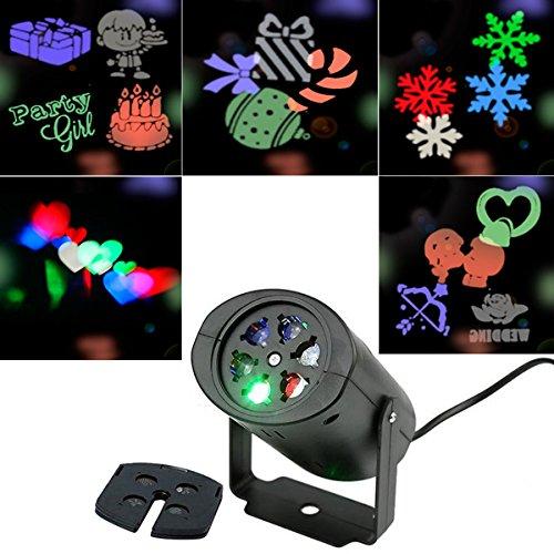 ihnachten, Kapmore Weihnachtsdekoration LED Projektor Party Lichter und Garten Lichter, Weihnachten Geburtstag, Hochzeit, Urlaub ,Wand-Dekoration LED Projektionslampe (Wählen Sie Ihr Gift-halloween-party)
