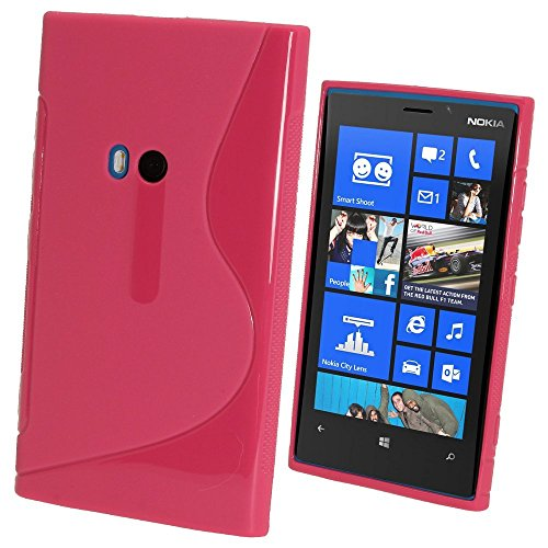 Style Icon Nokia Lumia 929/930 Hot Pink Silicone Gel S Line Grip Case Cover For Nokia Lumia 929/930 By - Nokia Linux