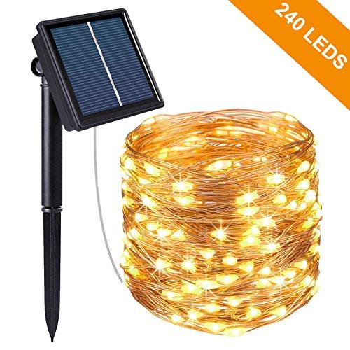 Guirlande Lumineuse Solaire, Kolpop 26M 240 LED...