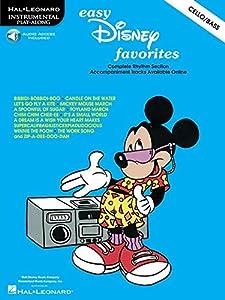 Easy Disney Favorites (cello/double Bass) Vlc Book/cd