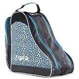 SFR De diseño Hielo/Patines Bolsa De Transporte - Azul Leopardo