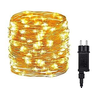 DeepDream Guirnalda de luces con