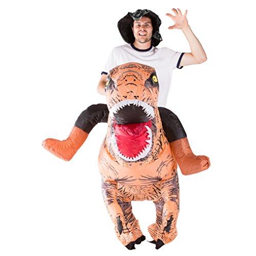 Imagen de hinchable prima dinosaurio adulto disfraz alternativa