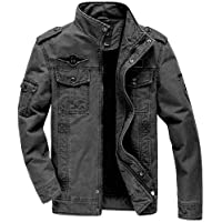 Export Self Design men's Jacket denim Jacket (MultiSize) (XL)