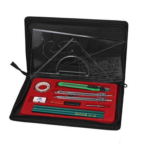 Mapper Mechanische Kompass Plotter Kombination Zeichnung Werkzeug-Set 16 in 1