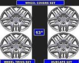 "Wheel Covers Wheel Trims Hubcaps Set 13"" - universal - amazon.co.uk"