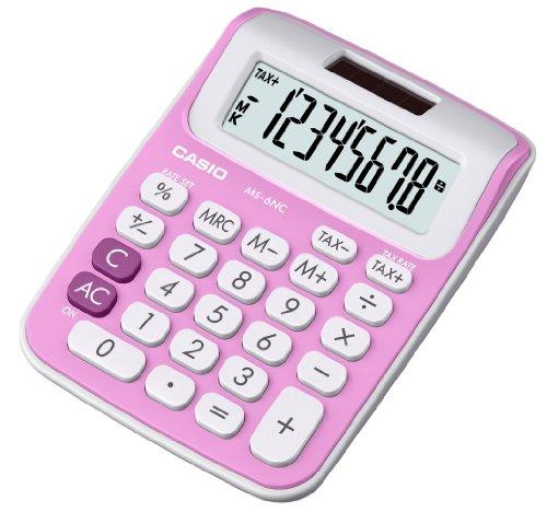 casio-ms-6nc-pk-s-eh-calcolatrice-da-tavolo-con-8-cifre-rosa