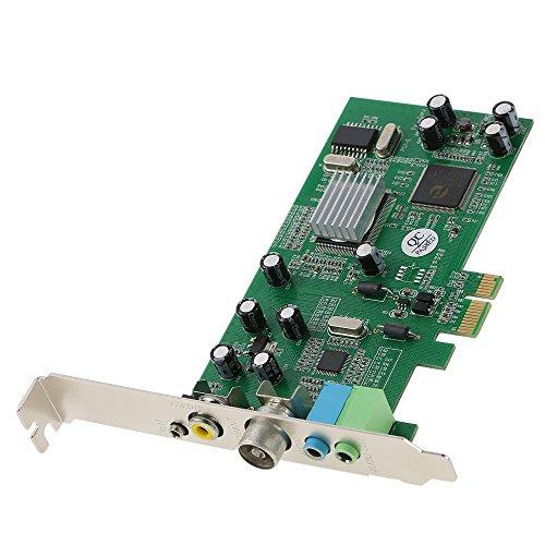 Generic PCI-E Interner TV-Tuner Karte MPEG Video DVR Capture Recorder PAL BG PAL I NTSC SECAM PC PCI-E Multimedia-Karten-Fernbedienung Ntsc Pal Secam Tv-tuner
