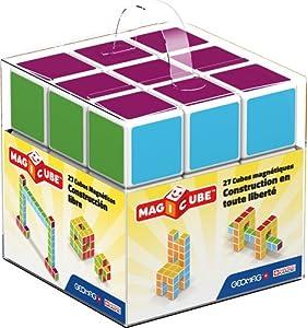 Geomag- Magicube Free Building Cubos magneticos,, 27 Piezas (128)