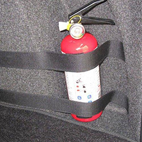 AST Works 4Pcs/Set Car Vehicle Trunk Fire Extinguisher Fixed Belt Mounting Bracket Bands
