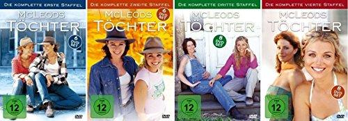 McLeods Töchter Staffel 1-4 (1+2+3+4) [DVD Set] Starter Set Köche Starter