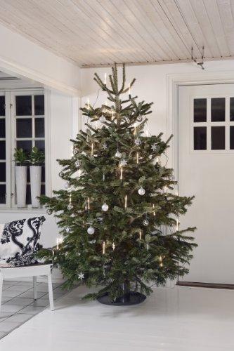 Konst Smide 1168-000 - Cadena de luces led para el árbol de Navidad (16 velas luminosas, 32 diodos de cálida luz blanca, transformador interno de 4,5 V, incluye interruptor)