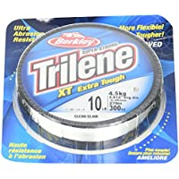 Berkley Trilene Xt Filler 0.08 pollici Diametro Lenza, 4-Pound Test, 330-Yard Spool, Chiaro