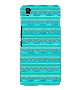 EPICCASE ethnic lines Mobile Back Case Cover For OnePlus X (Designer Case)