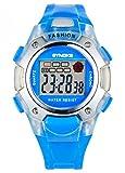 Kinderuhr für Jungen und Mädchen (5–12Jahre), elektronische Digitaluhr für Aktivitäten im Freien und Sport, Blau