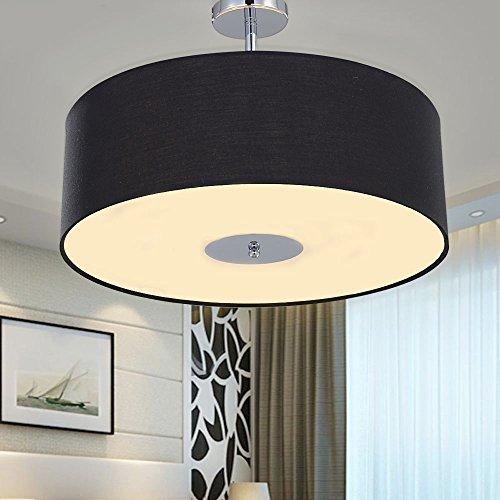 sparksor-ceiling-light-in-chrome-matt-fabric-drum-shade-gray-pendant-light-for-living-room-bedroom-k