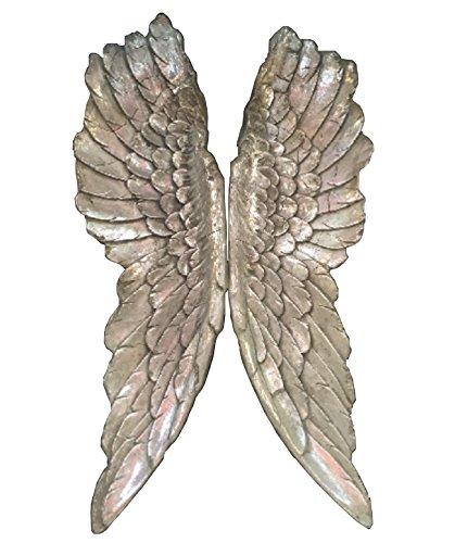 Engelsflügel 2 tlg. Wanddeko Wandhänger Deko Engel Flügel XXL Hänger (Engelsflügel Schmetterling)