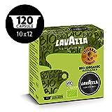 Lavazza Capsule Caffè A Modo Mio ¡Tierra! Bio-Organic, 10 Confezioni da 12 Capsule [120 Capsule]