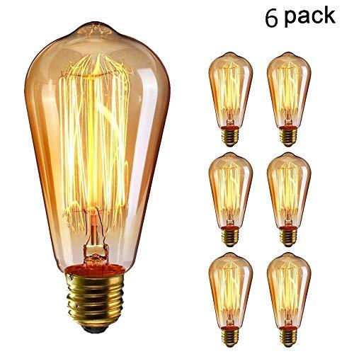 *Edison Lampe Vintage Stil*