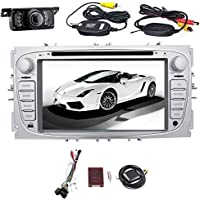 EinCar 7 Inch Touch Screen Android 7.1 Car Stereo for Ford Focus 2009 2010 2011 2012 Double 2 Din Quad Core In Dash Head Unit Radio Support Bluetooth,1080P video,Wifi + Wireless Rear Camera + Canbus