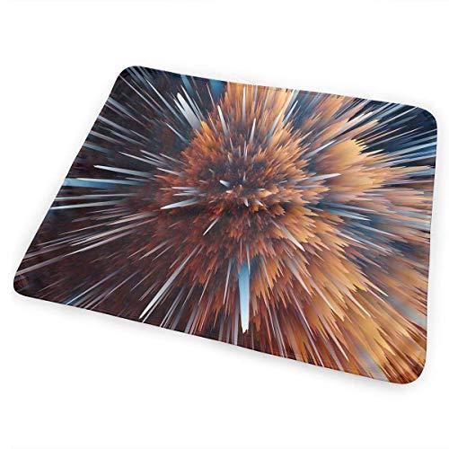 Voxpkrs Wickelunterlage Windelwechselmatte Shocking Particle Explosion Pattern 25.5 x 31.5 Inches -