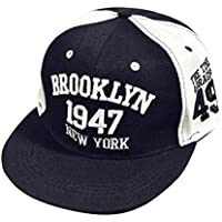Sannysis Gorra de Beisbol Sombrero de Hip Hop, Sombrero Ajustable (Color)
