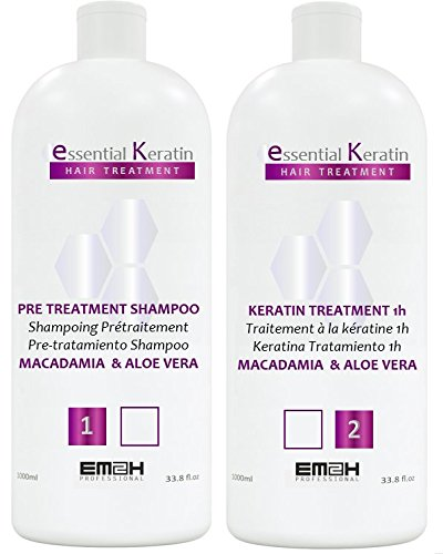 Essential Keratin 1000ml KIT Lissage Brésilien
