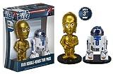 Funko - Star Wars C-3PO y R2-D2 7.5 cm Mini Bobble Heads en Caja