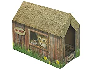 Nobby Cat House Paper Board