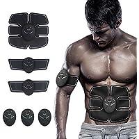 Muscle Stimulator, Ab Trainer, Gel Pads For Abs Stimulator,Abdominal Trainer,Gym Workout Machine,Abdominal Toner,Muscle Toning Belt