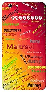 Maitreyi (A wise woman) Name & Sign Printed All over customize & Personalized!! Protective back cover for your Smart Phone : Sony Z4 compact
