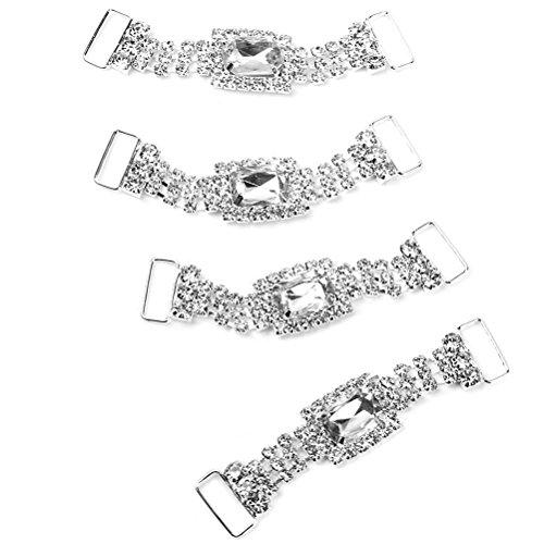 LEORX delicati Charming da 4 portatovaglioli porta tovaglioli