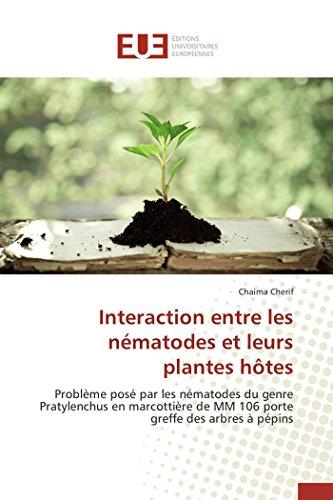 Interaction entre les nématodes et leurs plantes hôtes