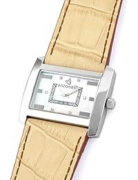 ANTONELLI 960019 - Reloj Unisex movimiento de cuarzo con correa de piel