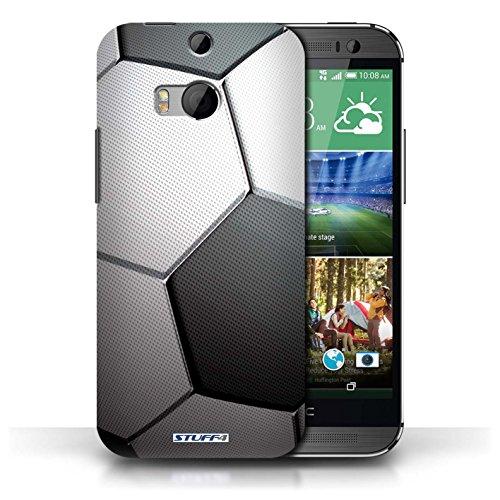 Kobalt® Imprimé Etui / Coque pour HTC One/1 M8 / Football américain conception / Série Balle Sportif Football