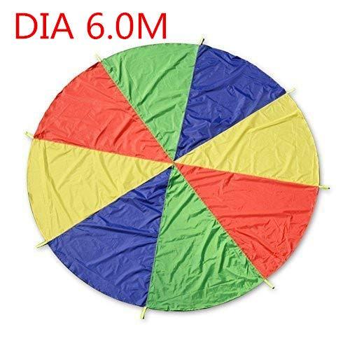 BAINA Play Tents Kids Game Paracaidas Infantil Grande Juegue Parachute Multicolored Play...