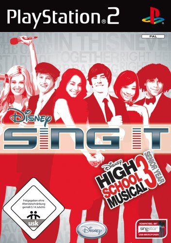 Disney Sing it: High School Musical 3 - Senior Year - [PlayStation 2] (High-school-datum)