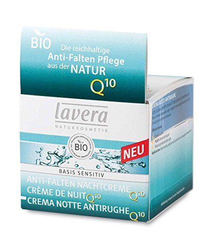 LAVERA CREMA NOCHE ANTIARRUGAS Q10 jojoba+karite 50ml BIO