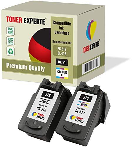 Pack 2 XL TONER EXPERTE® Compatibles PG-512 CL-513