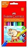 Faber-Castell 116524Dreikant Jumbo Buntstifte (24Stück)