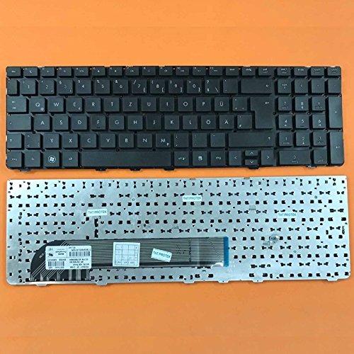 kompatibel für HP ProBook 4530s Tastatur - Farbe: schwarz - ohne Rahmen - Deutsches Tastaturlayout (Laptop Hp 4530s Probook)