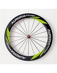 Aurora Racing 700 C ruedas de carbono carretera bicicleta Sat 60t-25 bicicleta ruedas 700