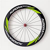 Aurora Racing Ruote Copertoncino Cyclocross Bike Freno a disco 60 – 23 mm, in carbonio, 20/24 Fori