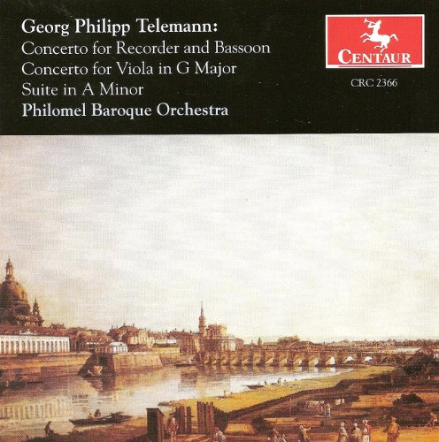 Telemann, G.P.: Double Concerto for Recorder and Bassoon, Twv 52:F1 / Viola Concerto, Twv 51:G9