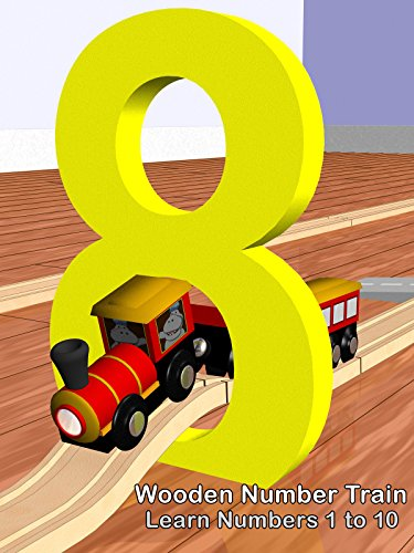 Image of Wooden Number Train - Learn Numbers 1 to 10