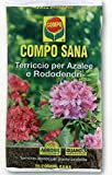 Erde von Qualität 'für Azaleen Rhododendron und Pflanzen säurehaltige in Genre COMPO SANA IN Stück 80Liter