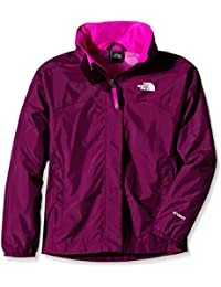 The North Face Jacke Resolve Reflective - Cortavientos para niña, color morado, talla S