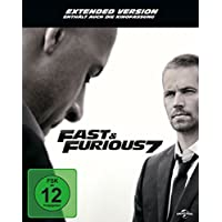 Fast & Furious 7 - Extended Version - Steelbook