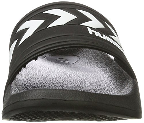 Hummel Larsen Slipper, Mocassini Unisex – Adulto Nero (Black)