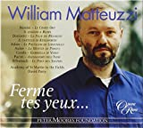 William Matteuzzi ~ Ferme tes yeux...